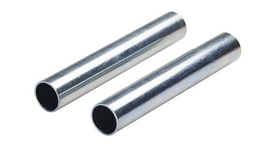 CAMPZ Reservdel til glassfiberstang 11 mm, 2 stk. sølv